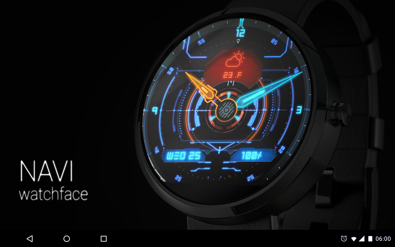 navi watch face android apps on google play. Black Bedroom Furniture Sets. Home Design Ideas