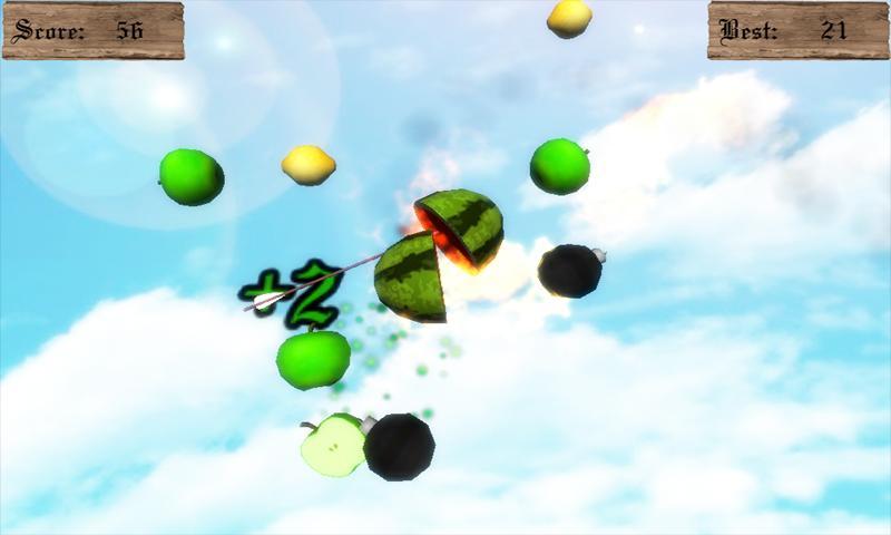 Fruit Archery Free- screenshot