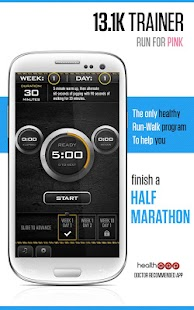 Half Marathon Trainer - screenshot thumbnail