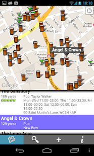 Find Pubs & Bars - screenshot thumbnail