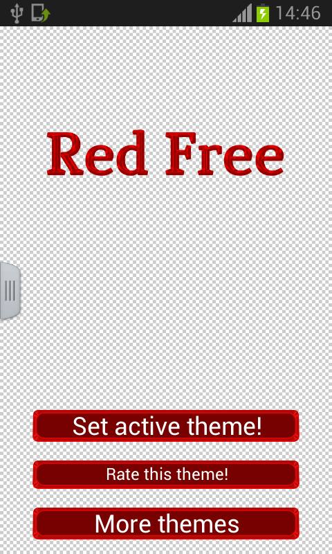 Red Free Keyboard - screenshot