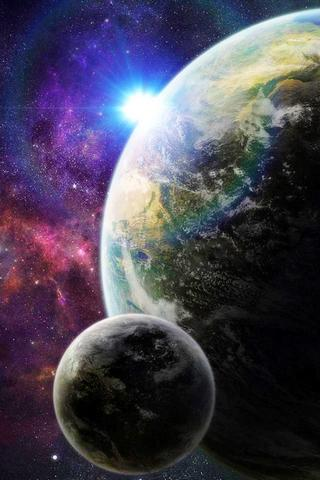 3D Cool Space Wallpaper iii - screenshot
