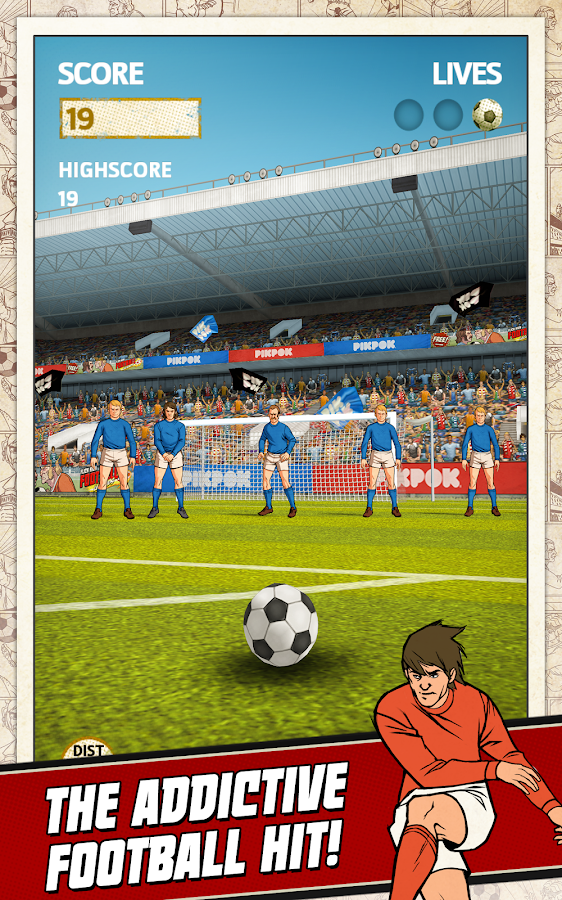 how to play kick football in procedure