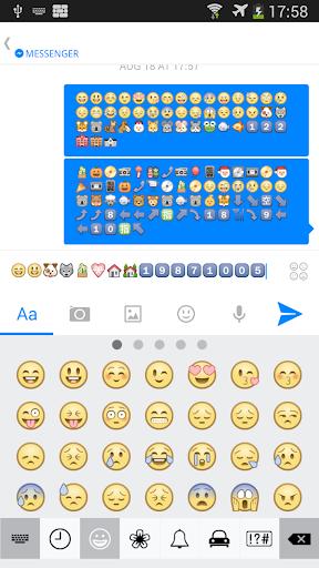 Emoji Keyboard for WhatsApp