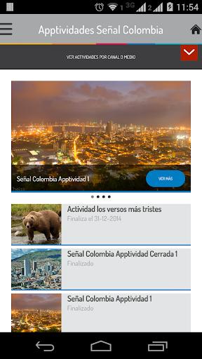 Apptividades Señal Colombia