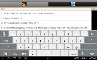 Screenshot of IRDA (Insurance Reg) Act,India