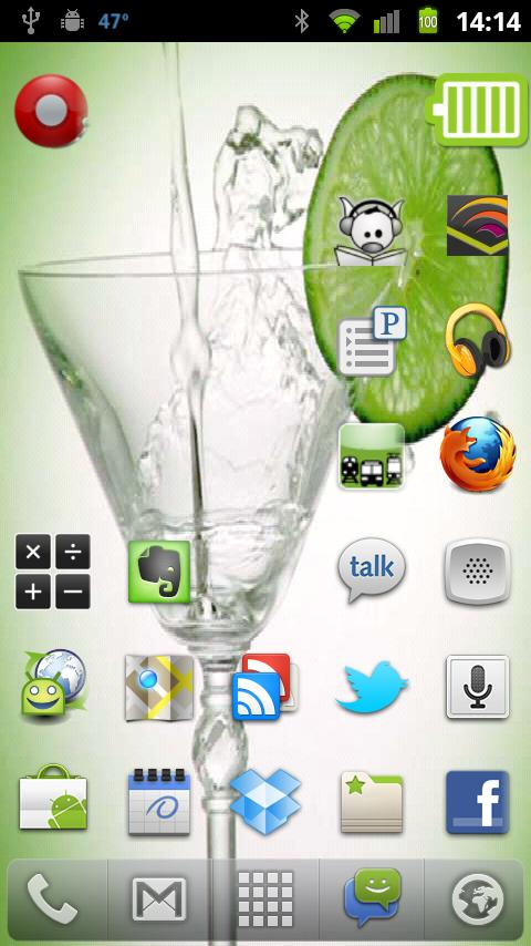 Martini Live Wallpaper- screenshot