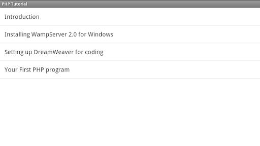 PHP TUTORIAL using DreamWeaver