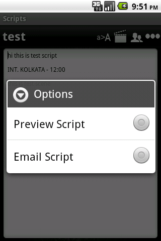 Scripts Expert - screenshot