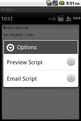 Scripts Expert - screenshot