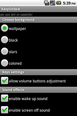 EasyUnlock- screenshot