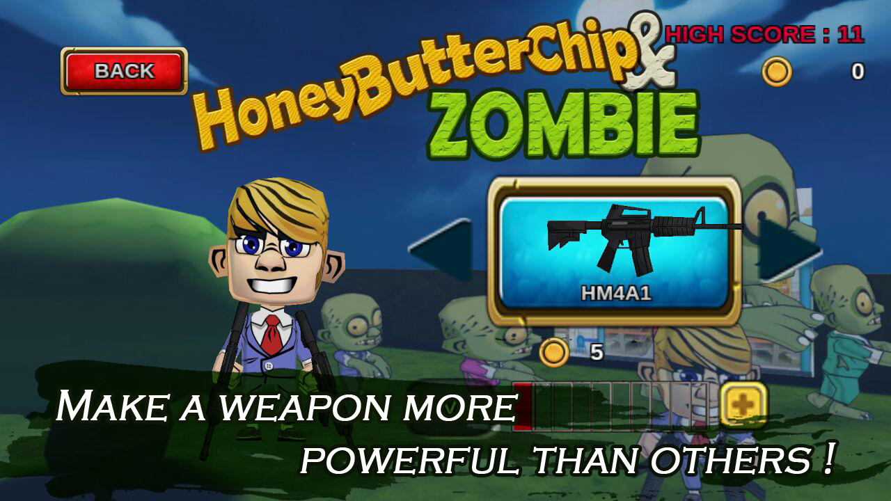 Honey Butter Chip And Zombie- screenshot