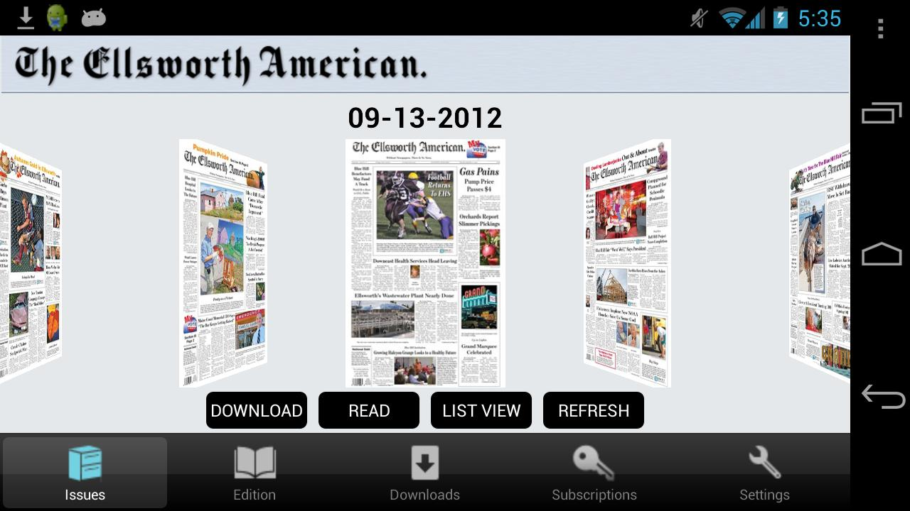 The Ellsworth American - screenshot