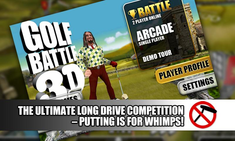 Golf Battle 3D. - screenshot