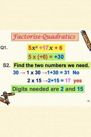 Factorise2