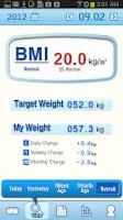 Screenshot of A+ Weight Manager Lite