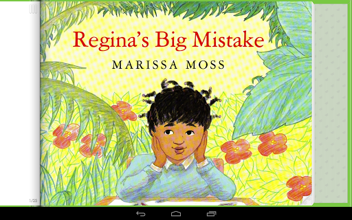 Regina's Big Mistake Storybook