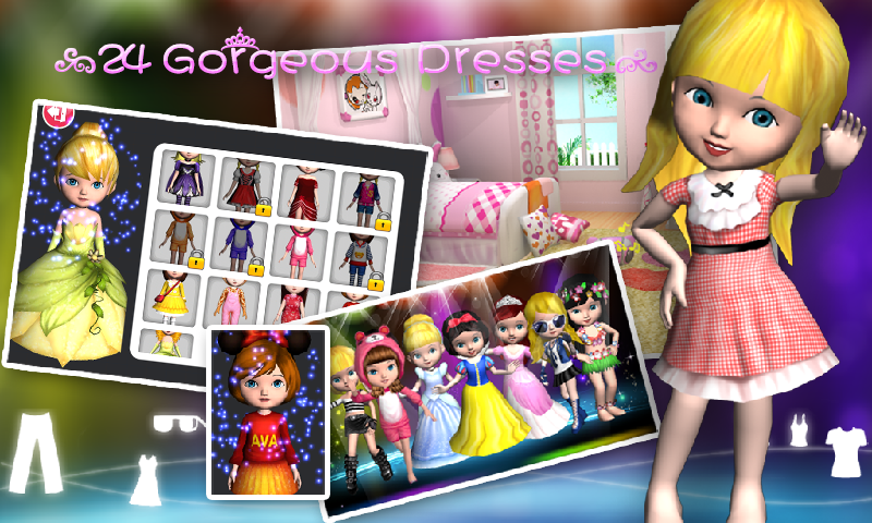 Ava the 3D Doll- screenshot