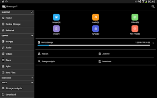 Screenshot of File Manager HD(File transfer)