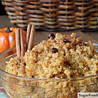 Creamy Pumpkin Quinoa.