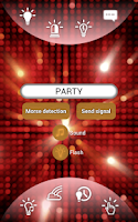 Screenshot of Disco Flashlight