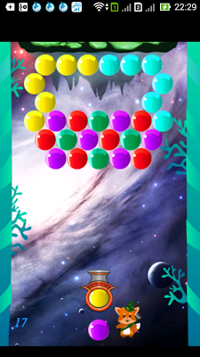 Bubble Shooter Space - screenshot