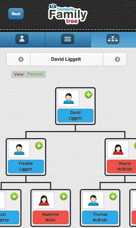 pedigree view contacts family tree screenshot free familysearch