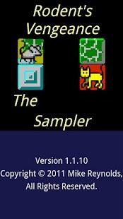 Rodent's Vengeance the Sampler- screenshot thumbnail