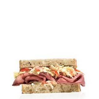 Roast Beef and Horseradish Slaw Sandwich