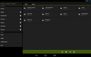 Screenshot of Fo File Manager