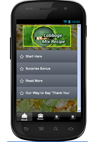 Cabbage Mix Recipe