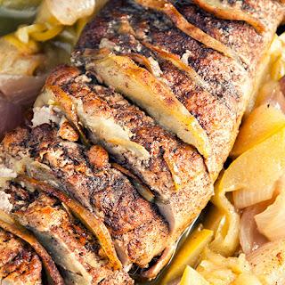 Apple-Cinnamon Pork Loin.