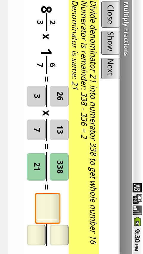 Learn Fractions- screenshot