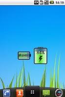Screenshot of Easy Battery Widget