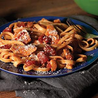 Chicken-Parmesan Pasta Toss