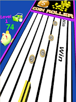 Screenshot of Coin Roller 3D Pro