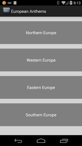 European Anthems
