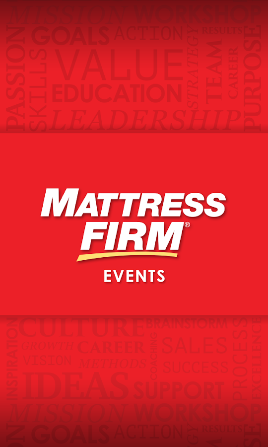 Mattress Firm Events Android Apps on Google Play
