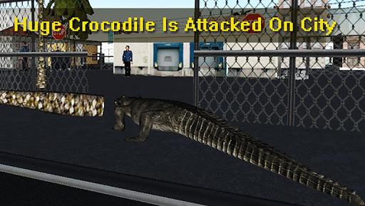 疯狂的鳄鱼3D模拟器