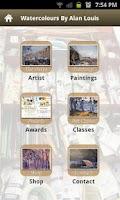 Screenshot of Watercolours by Alan Louis