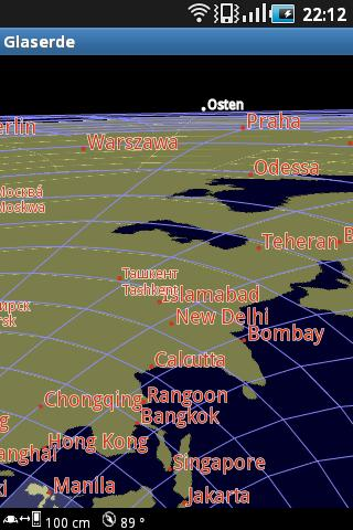 Glaserde Transparent Earth