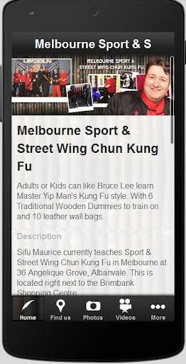 Sport Street Wing Chun Kung Fu