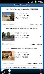 Santa Fe Properties - screenshot thumbnail