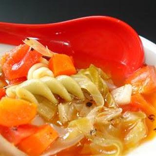 Garlic Vegetable Soup