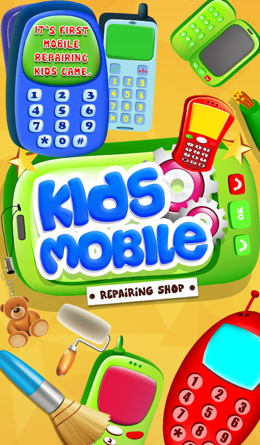 Kids Mobile Repairing - screenshot