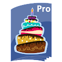 Birthdays Reminder Book Pro icon