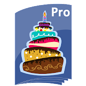 Birthdays Reminder Book Pro