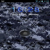 Go Locker Navy Blue Camo