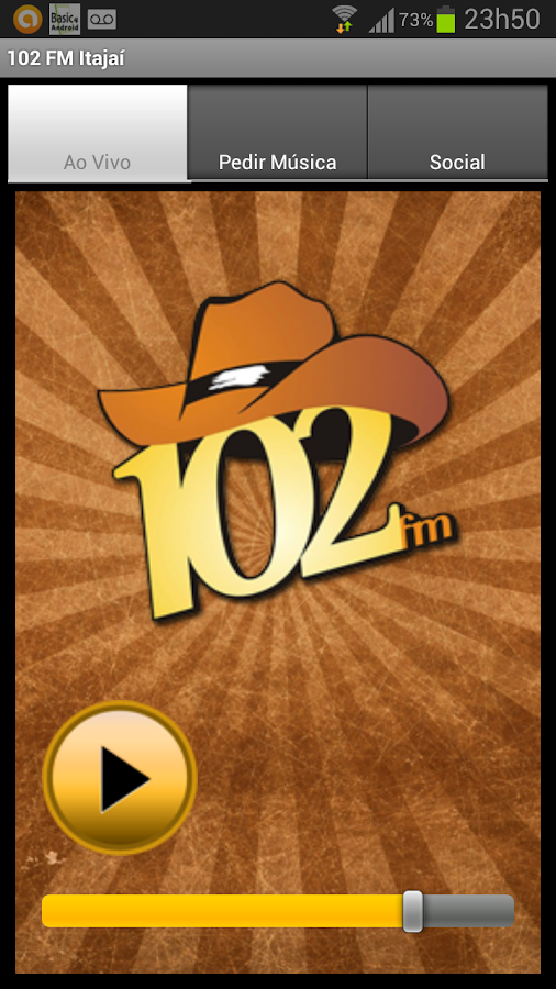 102 FM Itajaí- screenshot