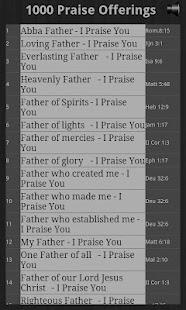 1000 Praise Offerings Pro- screenshot thumbnail